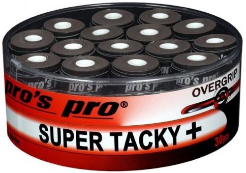 Pros Pro Super Tacky Plus 30er schwarz Griffbänder