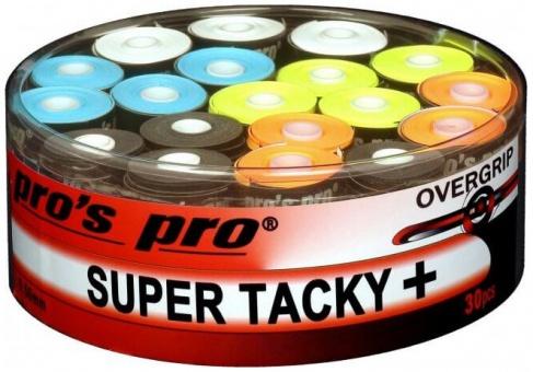 Pros Pro Super Tacky Plus 30er bunt Griffbänder