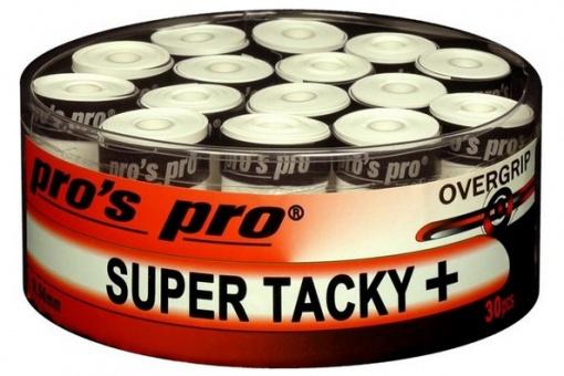 Pros Pro Super Tacky Plus 30er weiss Griffbänder