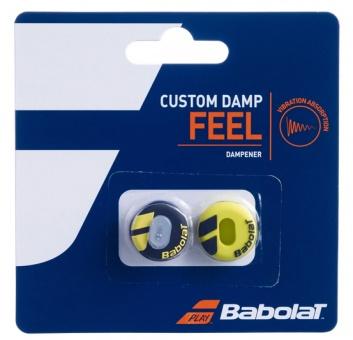 Babolat Custom Damp schwarz-gelb