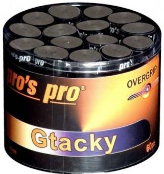 Pros Pro Gtacky 60er schwarz Griffbänder