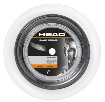 Head Hawk rough 200m grau Tennissaite