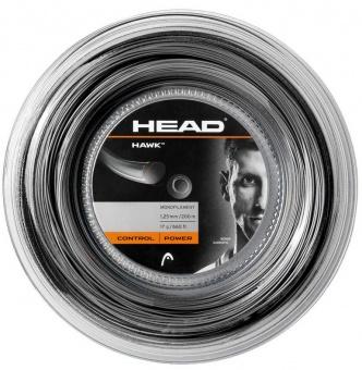 Head Hawk 200m schwarz Tennissaite