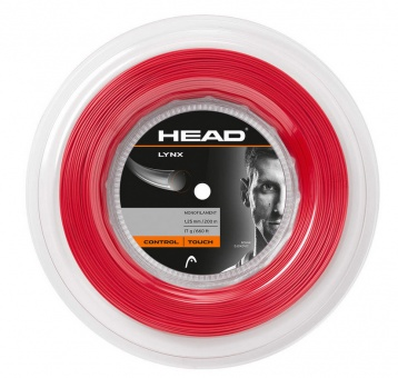 Head Lynx 200m rot Tennissaite