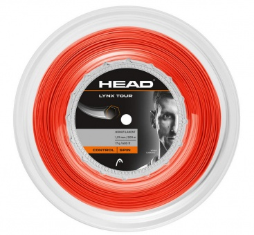 Head Lynx Tour 200m orange Tennissaite