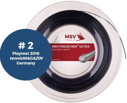 MSV Focus HEX Ultra 200m schwarz