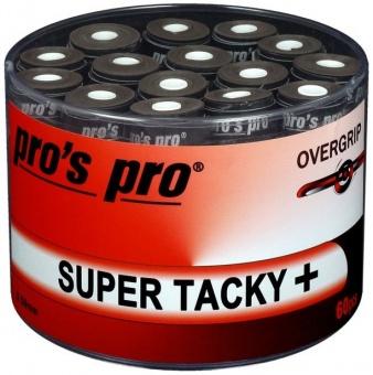 Pros Pro Super Tacky Plus 60er schwarz Griffbänder