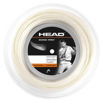 Head Sonic Pro 200m weiss Tennissaite