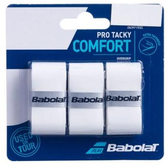 Babolat Pro Tacky 3er weiss