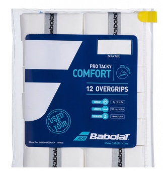 Babolat Pro tacky 12er weiss