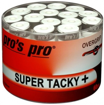 Pros Pro Super Tacky Plus 60er weiss Griffbänder
