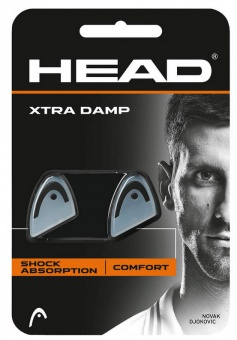 Head Vibrationsdämpfer Xtra Damp black
